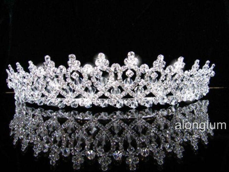 A387 Wedding Bridal Bridesmaid Prom Party Swarovski Crystal Rhinestone