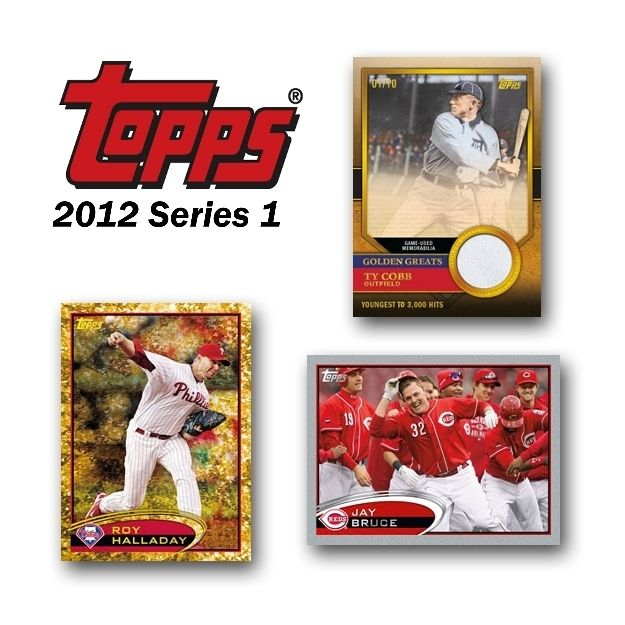 2012 Topps Series 1 Baseball Factory Sealed Box