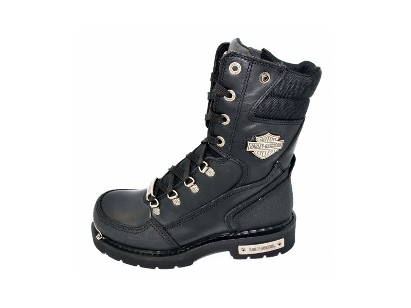 Harley Davidson Boundary Mens Riding Motorcycle Boots D95250 Size 7