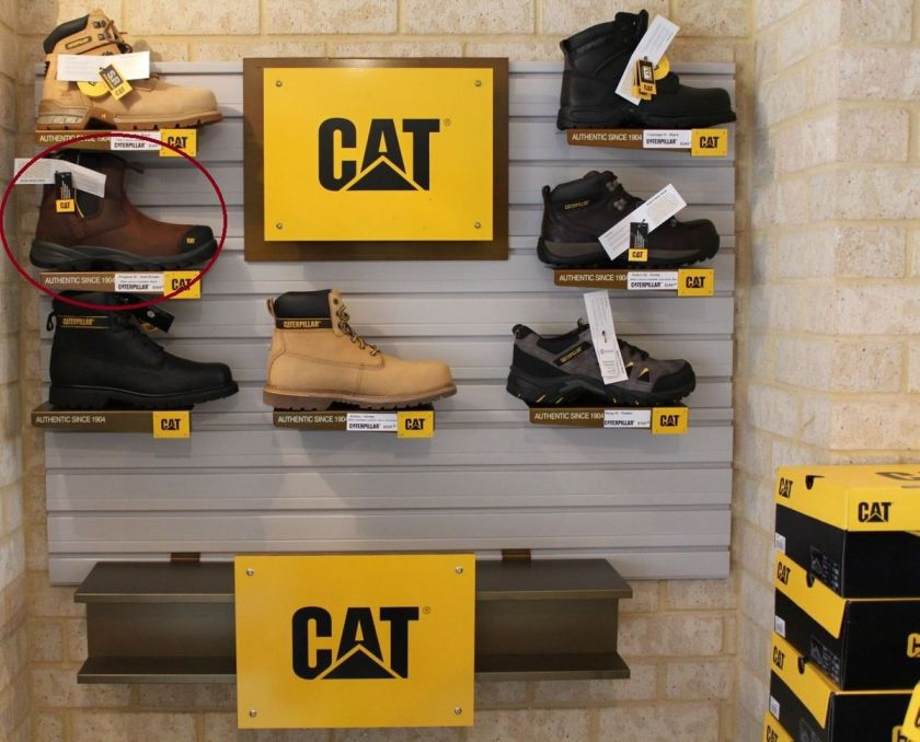 Caterpillar Mens Safety Work Boot Shoe Propane St Steel Cap Toe
