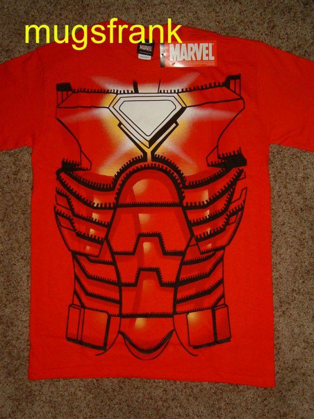 Nwt Iron Man Heart Core Marvel Costume T Shirt